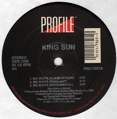King Sun – Big Shots (1991, VLS, 192)