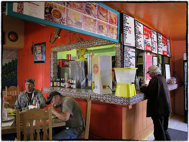 Toribios restaurant, Santa Fe