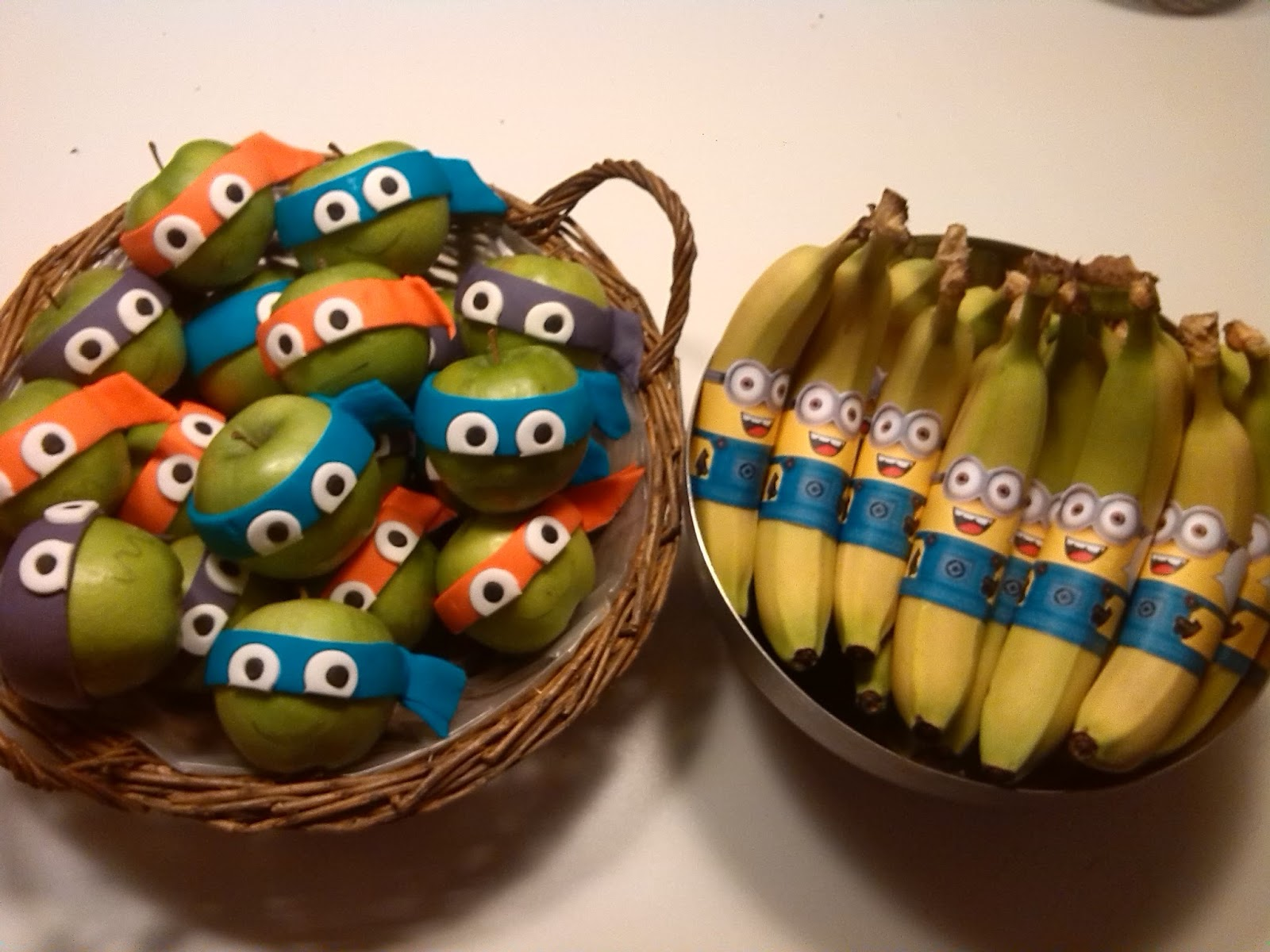 Love My New Life Food Move Me Gezonde Fruittraktaties Minions