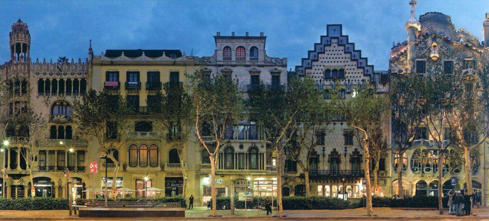 Travels and books the architecture of barcelona - Casa del libro barcelona passeig de gracia ...