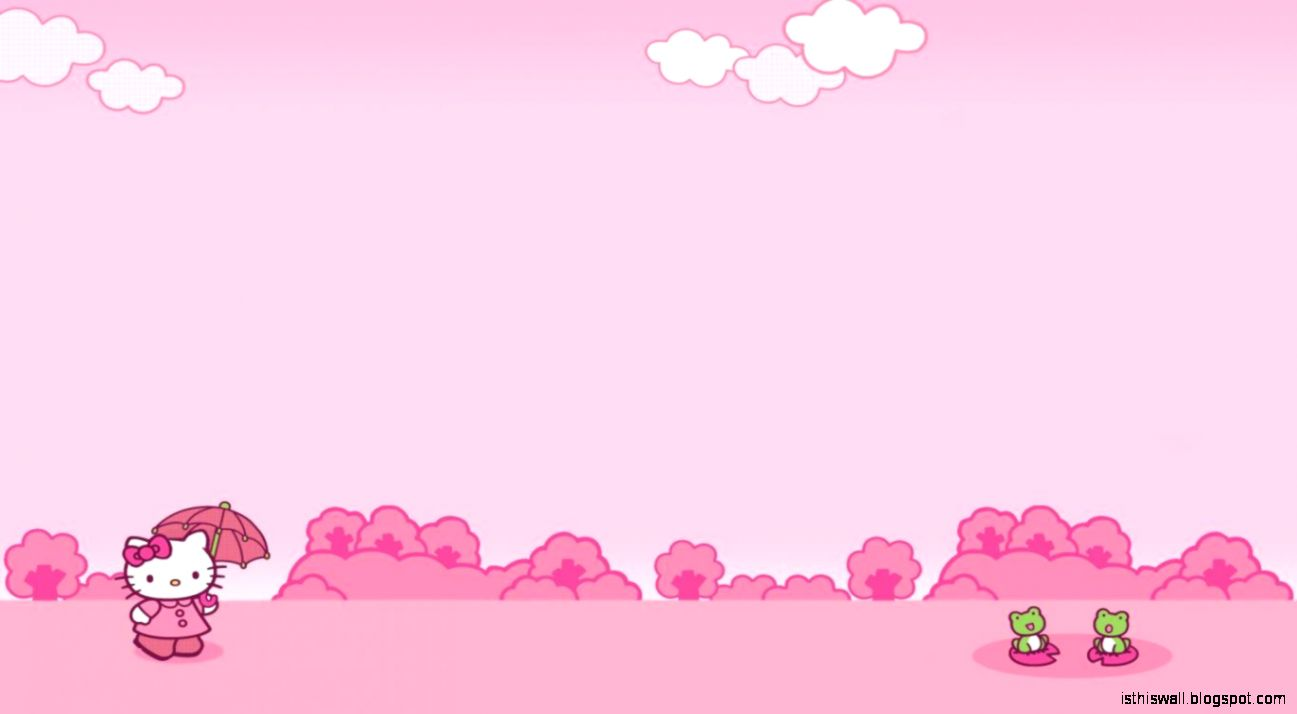 Hello Kitty Background  Background