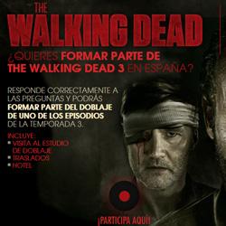 Concurso The Walking Dead 3 en Fox España