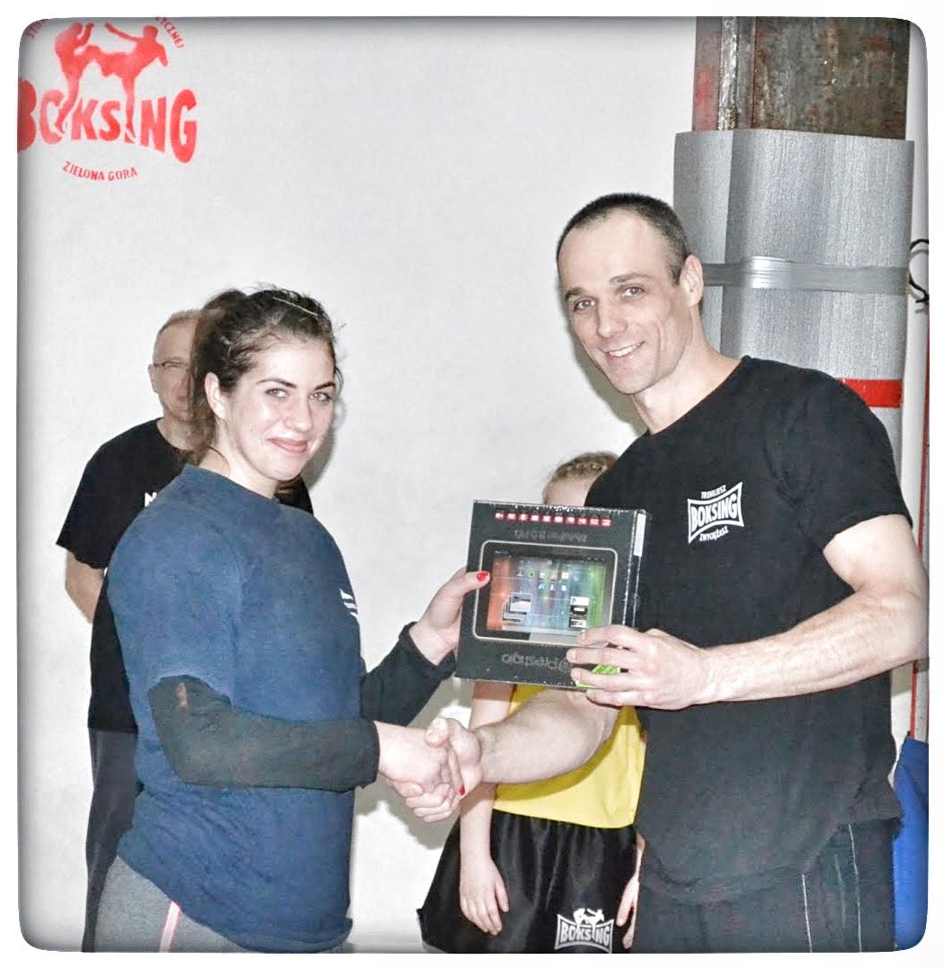 sport, tablet, ferie 2014, Elżbieta Polak, Marszałek, woj. Lubuskie, treningi, konkurs, boks, kickboxing, muay thai
