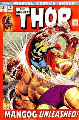 Thor #197, Mangog, John Romita