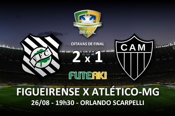 Veja o resumo da partida com os gols e os melhores momentos de Figueirense 2x1 Atlético-MG pelas oitavas de final da Copa do Brasil 2015.