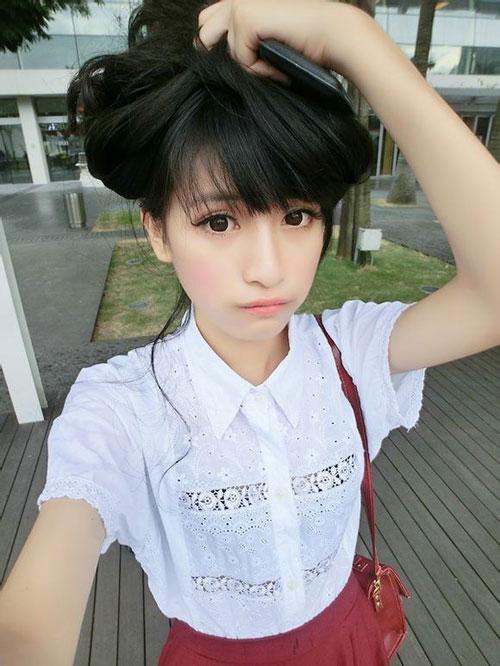 Ảnh gái xinh gái đẹp rất là cute 22