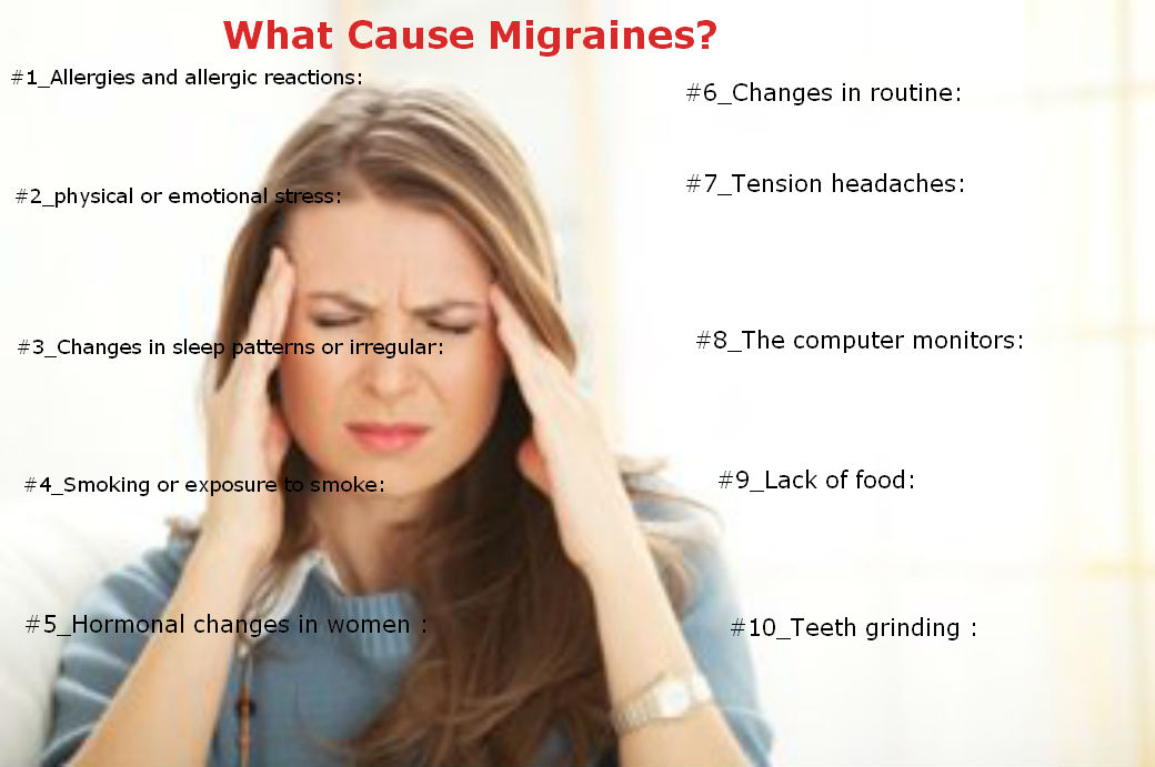 what causes migraines - DriverLayer Search Engine