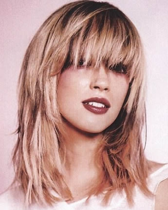 Bangs and Layers New Long Hairstyles In 2015 ~ Best Haircuts