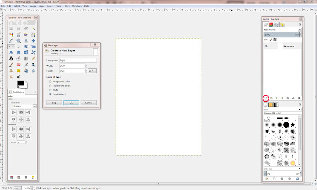 Deasy Designs Tutorial Using Free Software Gimp