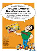 Magnificomics: Reunión de consorcio es un libro de humor gráfico e . (magnificomics risonancia libro alianza francesa)