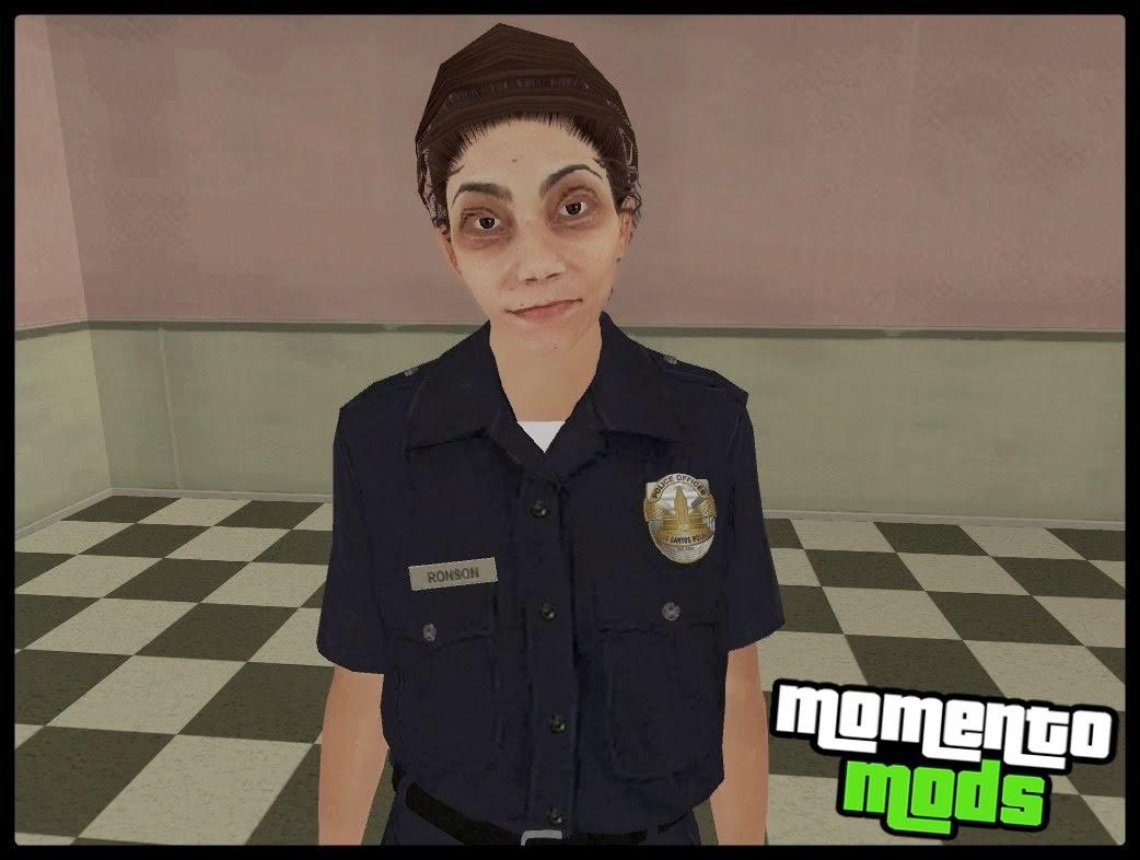GTA SA - Skin Policial Feminino Convertido Do GTA V