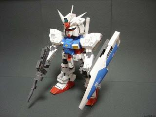 RX-78 GP01 SD Gundam Zephyranthes Papercraft