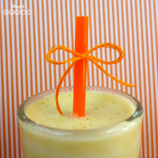 Homemade Orange Julius @ Blissful Roots