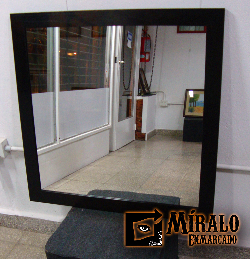 Espejos para ambientes y ba os a medida for Marcos para espejos a medida