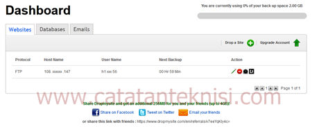 dropmysite layanan backup website,email dan database