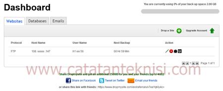 dropmysite layanan backup website,email dan database
