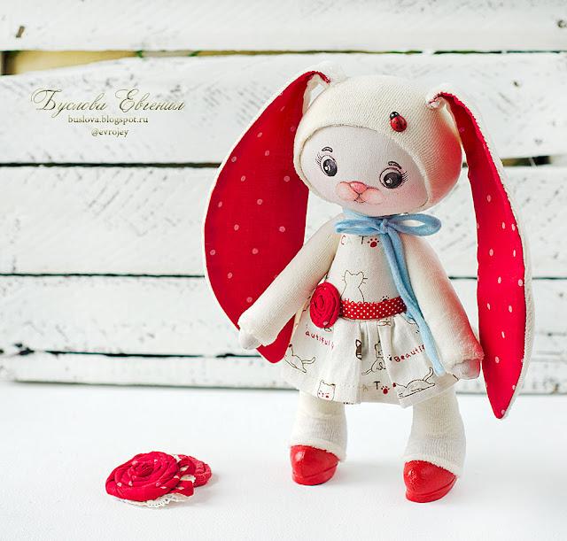 игрушка, кукла, текстильная кукла, тильда, Буслова Евгения, авторская работа