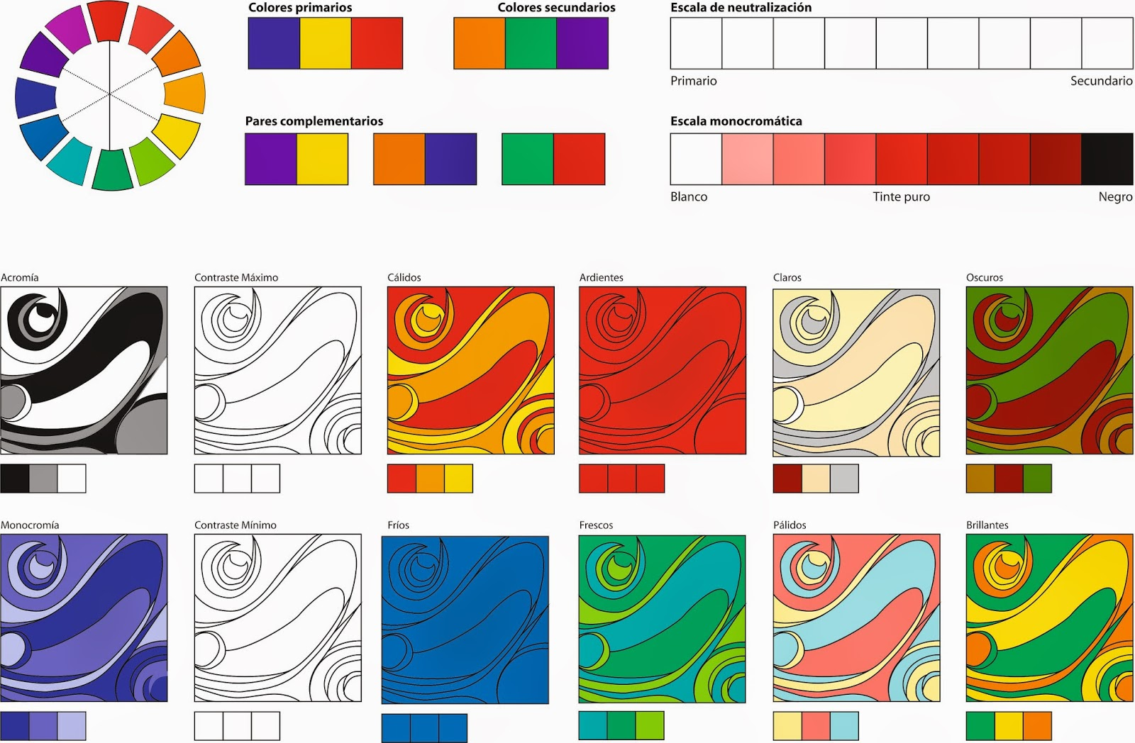 Dise o gr fico trabajo practico color for Diseno mesa de trabajo