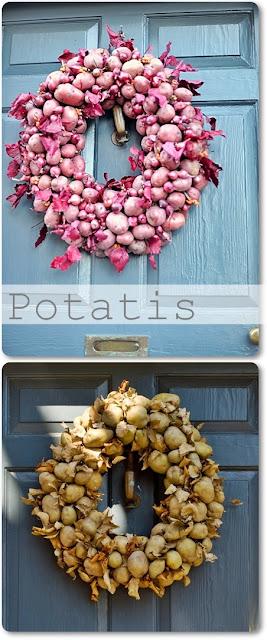 höstkransar potatiskrans