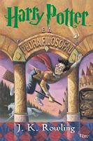 Harry Potter e a pedra filosofal - Capa