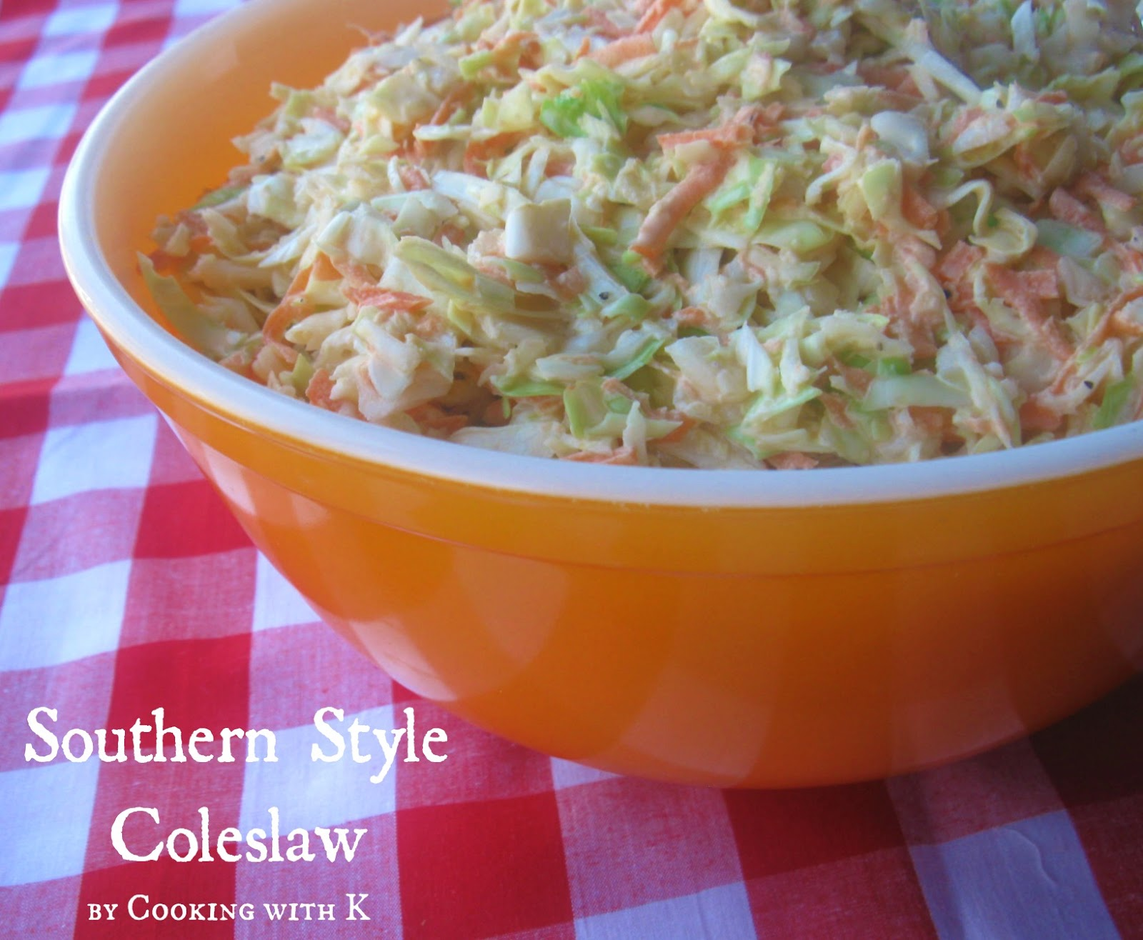 ... Style Coleslaw + How to make the dressing to go on it! {Granny's