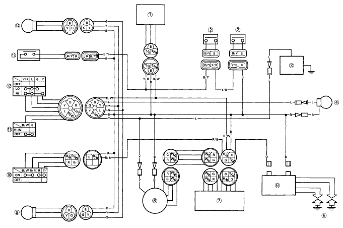 Wiring Diagram Yamaha Scorpio - Wiring Source •