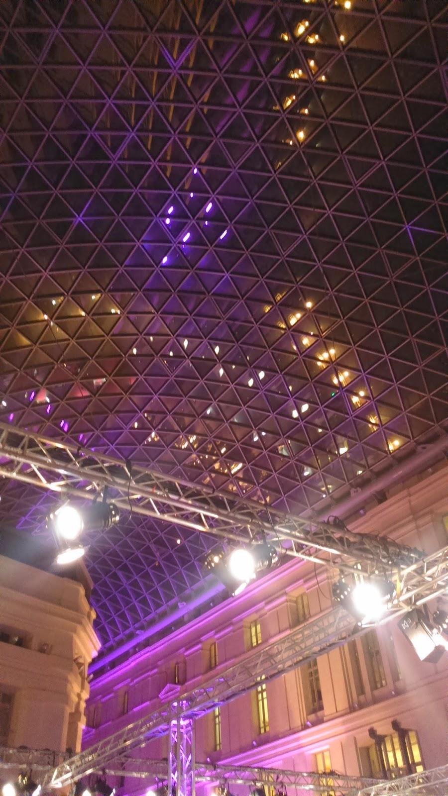 Galería de los Cristales Palacio de Cibeles Desfile La Condesa FW 15-16