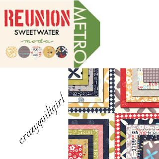Moda REUNION Fabric by Sweetwater