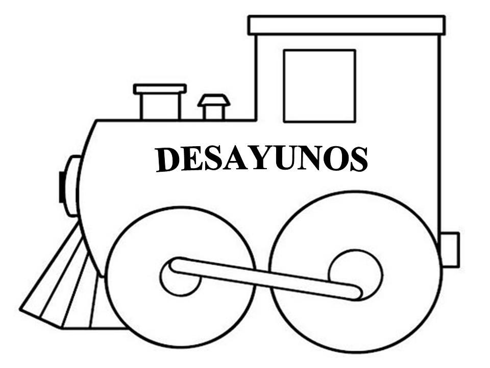 Atractivo Tren Imprimible Para Colorear Imágenes - Dibujos Para ...