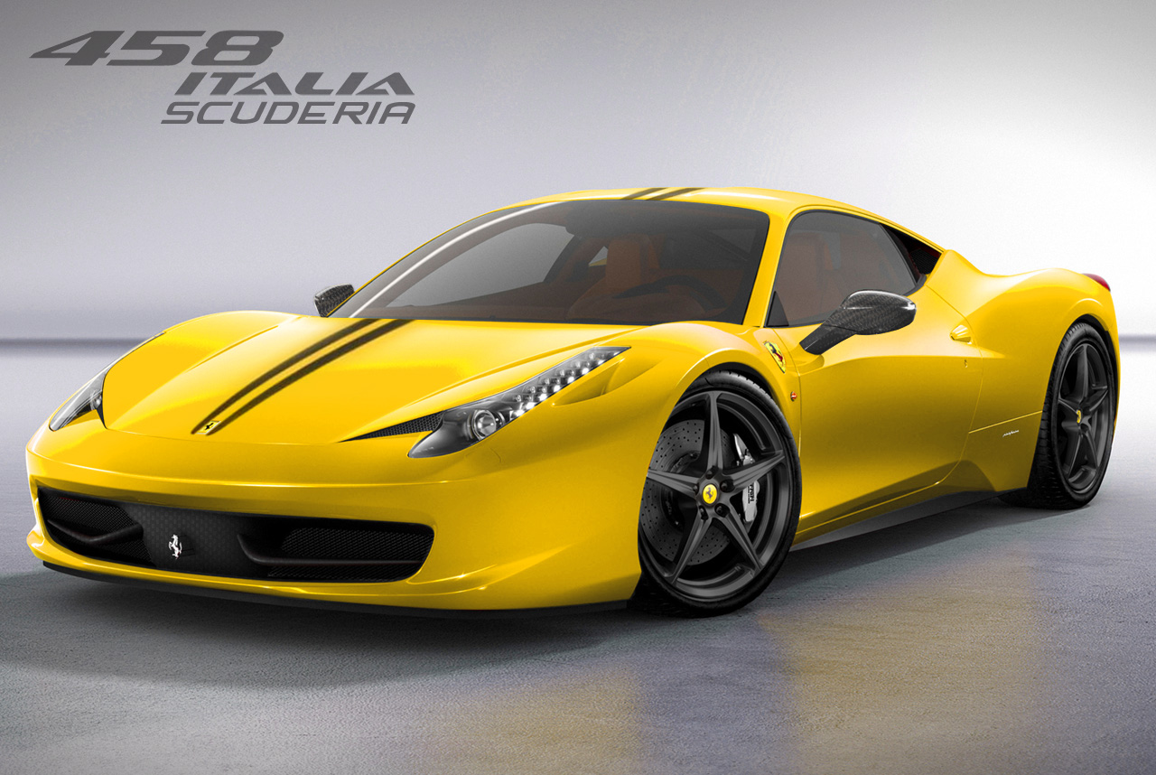 2011 ferrari 458 italia yellow. Black Bedroom Furniture Sets. Home Design Ideas