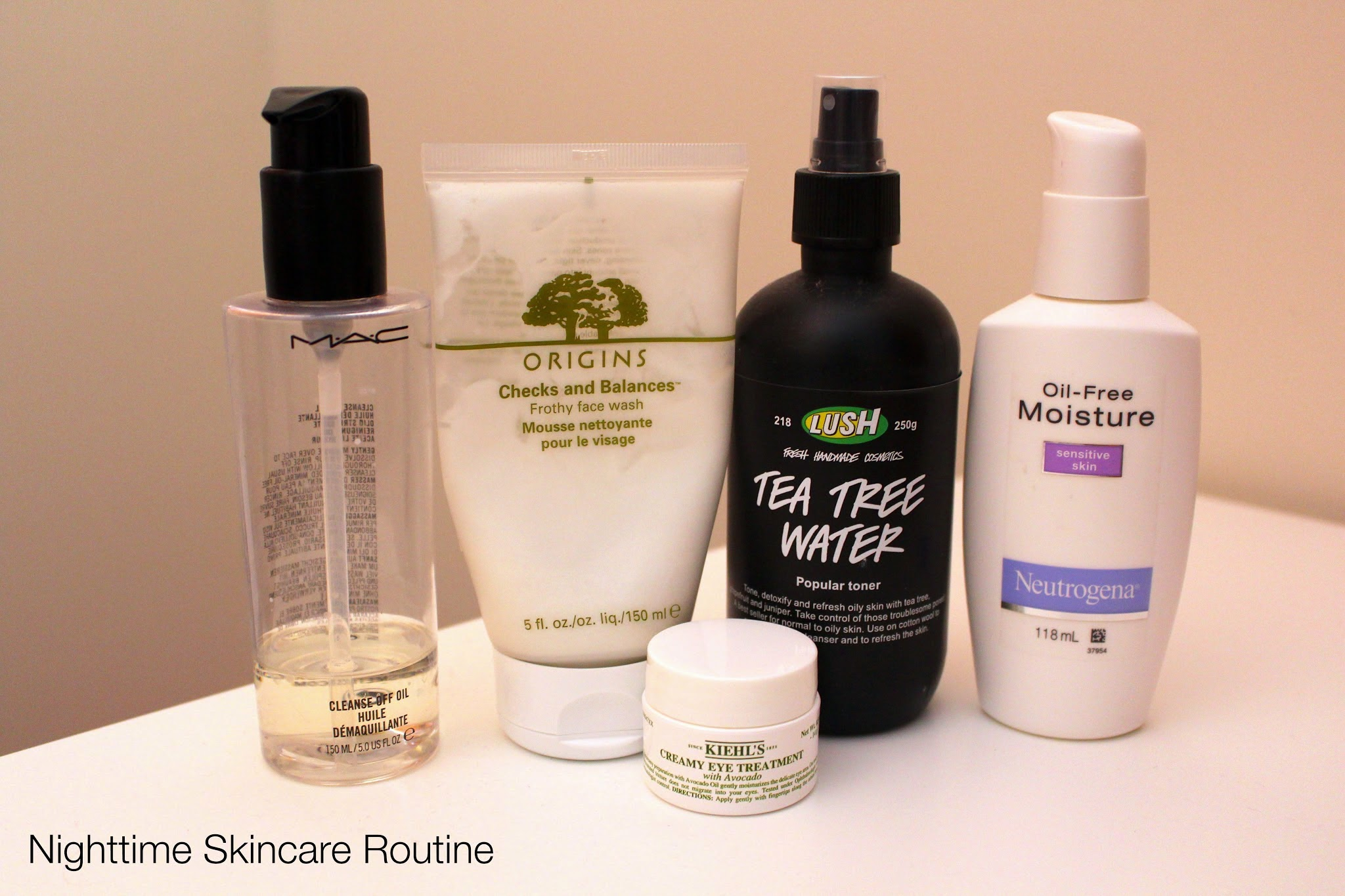 Updated morning and nighttime skincare routine for oily combination skin, skincare routine, oily skin routine, oily combination skincare routine