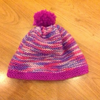 easy knit winter hat tutorial