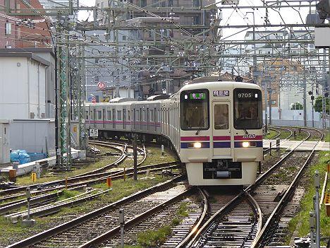 京王電鉄 ダービー臨時 急行 飛田給行き 9000系