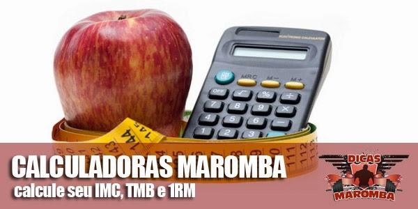 Calculadora de TMB e Calculadora 1RM