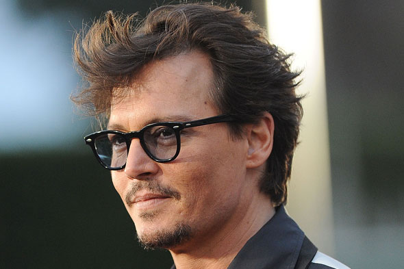 Johnny Depp Short Hairstyle Men Hairstyles Short Long