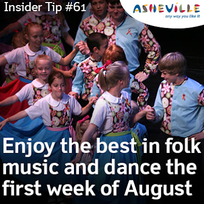 Asheville Insider Tip: The Nation's Longest Running Folk Festival Occurs Every August.