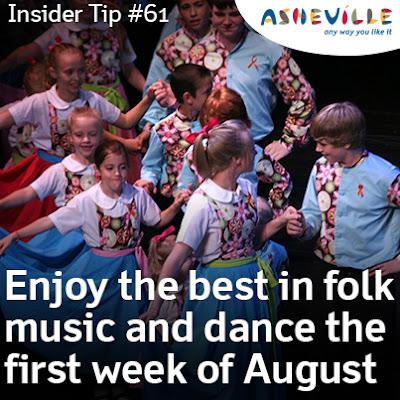 Asheville Insider Tip: The Nation's Longest Running Folk Festival Occurs Every August.
