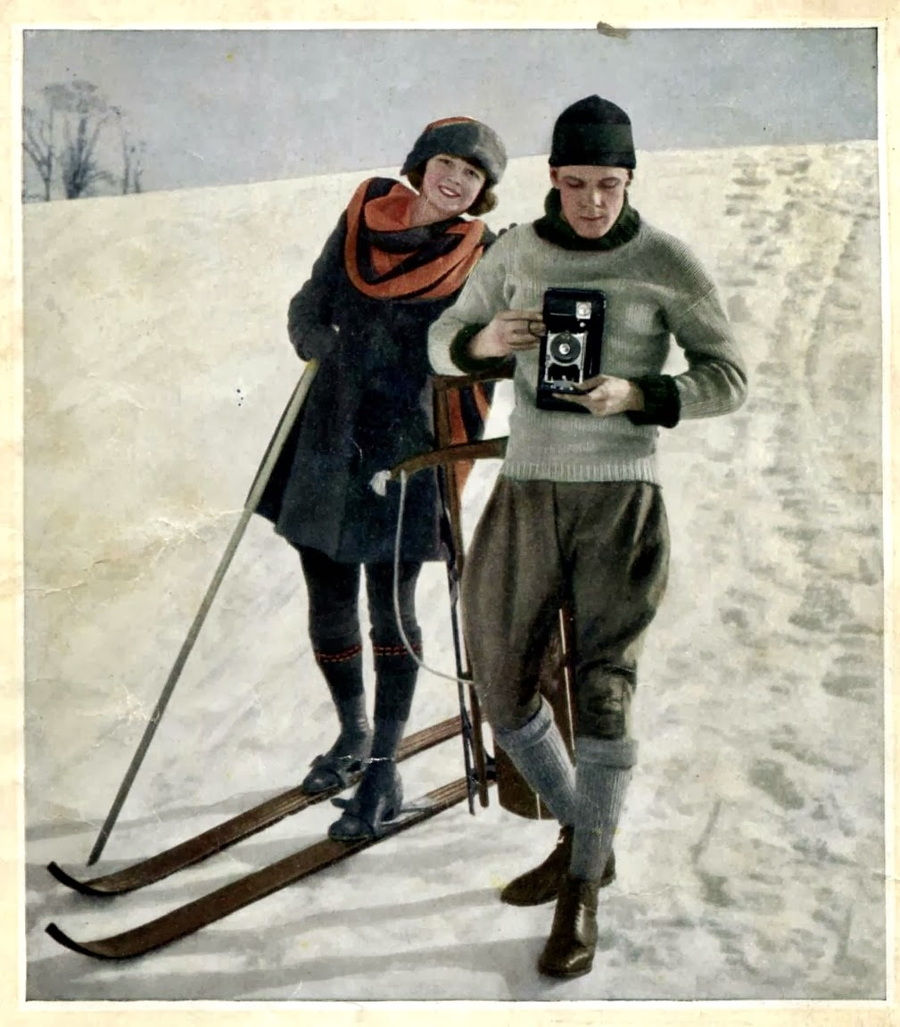 Vintage In A Modern World Skiing 1910s Early 1920s