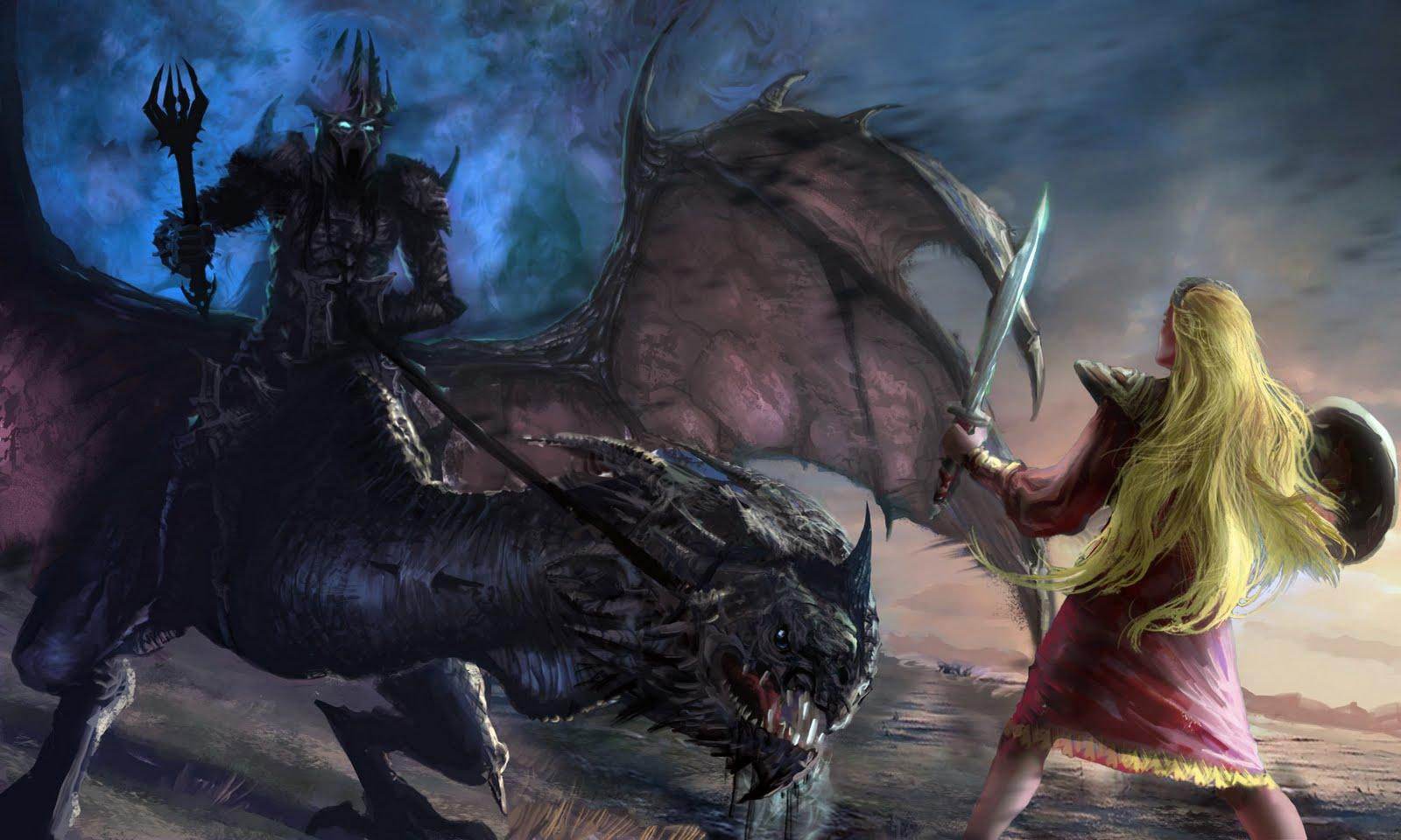 Nazgul Dragon Head