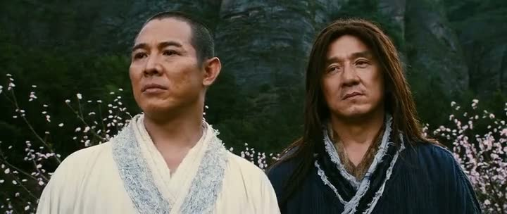 Screen Shot Of The Forbidden Kingdom (2008) Dual Audio Movie 300MB small Size PC Movie