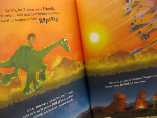the good dinosaur little golden book