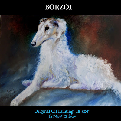 http://www.ebay.com/itm/M-BALDWIN-ORIGINAL-OIL-PAINTING-BORZOI-DOG-ART-by-MARCIA-BALDWIN-/151441252328?