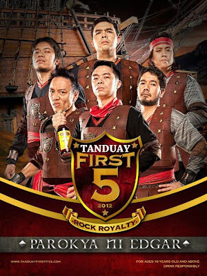 Tanduay First Five 2012: Parokya ni Edgar