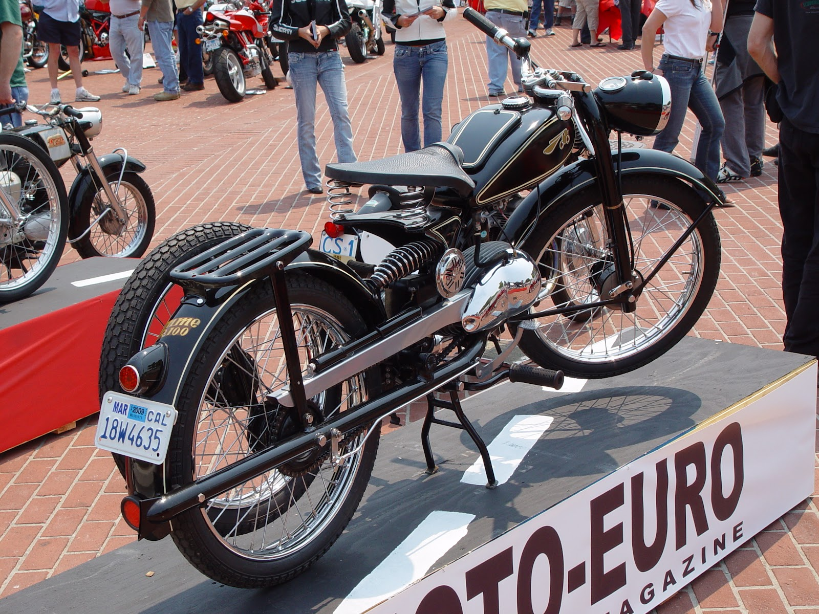 Riedel Imme R100 Luxus Motorcycle
