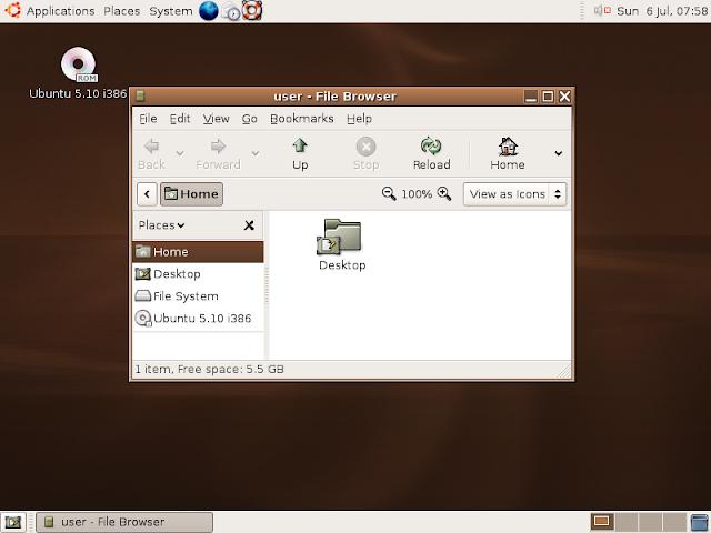 Ubuntu 5.10