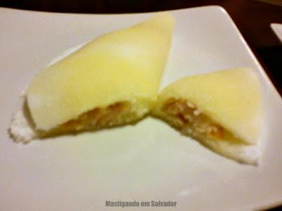 Doce Incanto Café & Torteria: Beijú de Requeijão Cremoso com Peito de Perú