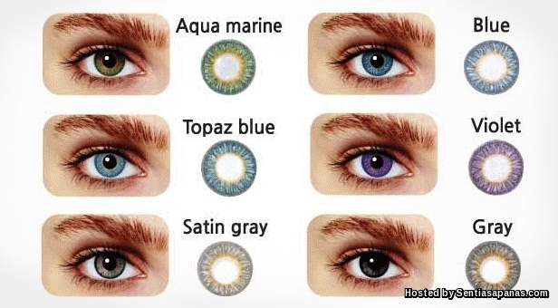 Colour-contact-lenses