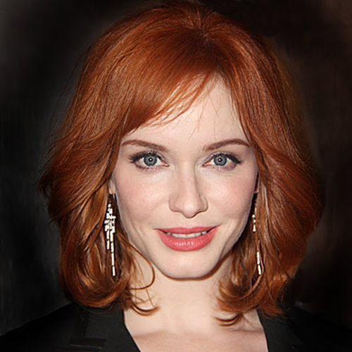 Christina Hendricks hair - The Vintage Bob