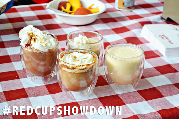yummy coffee drinks red cup showdown