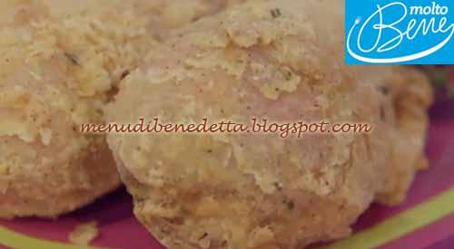 Pollo fritto di Miguel ricetta Parodi per Molto Bene su Real Time